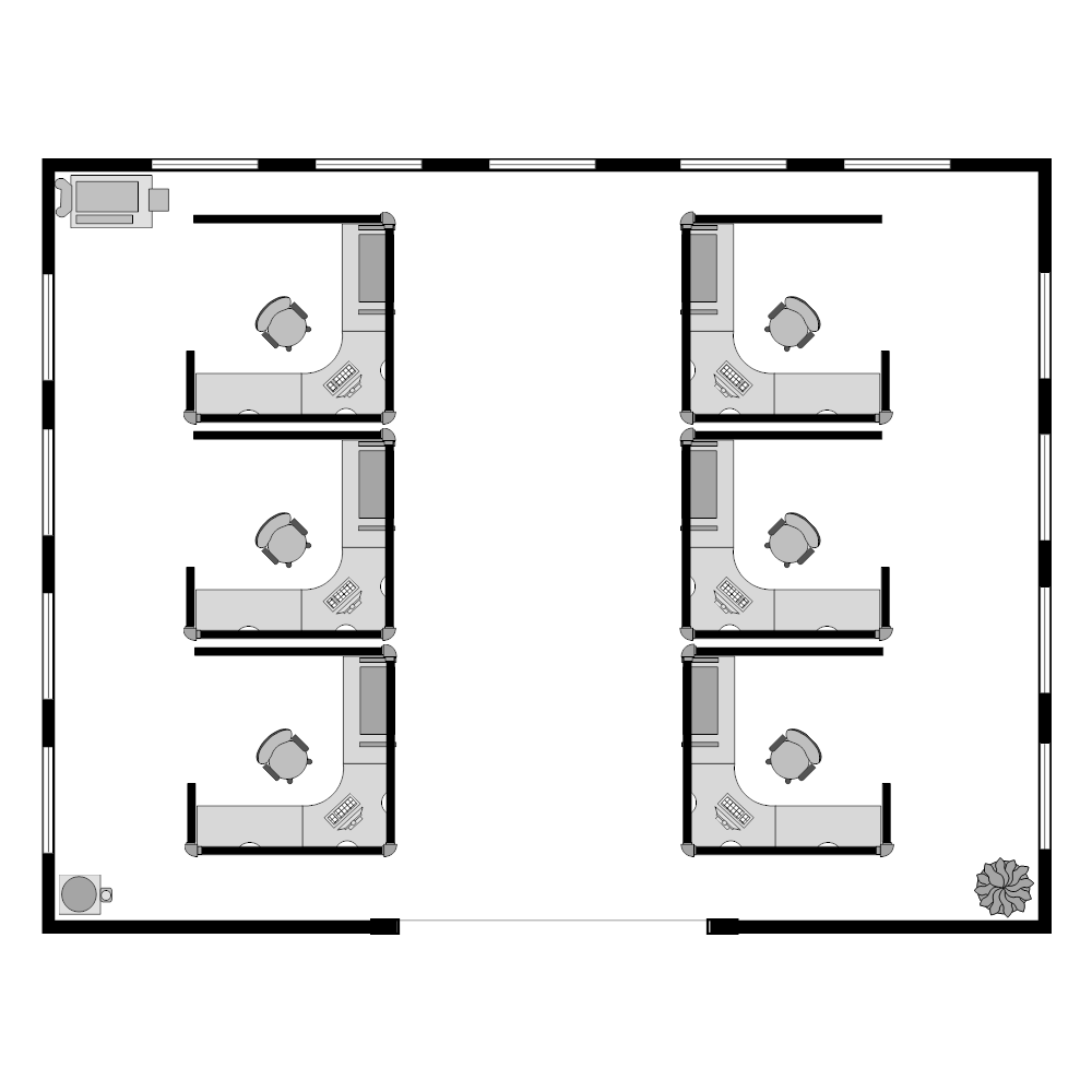 Example Image: Cubicles