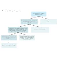 Company Merger Decision Tree