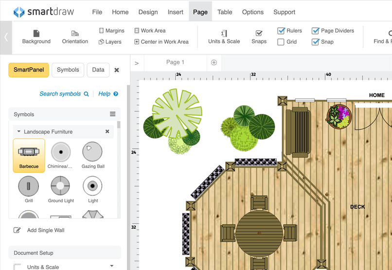 Deck designer online app or free download deck symbols malvernweather Image collections