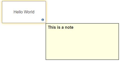 VisualScript set note icon