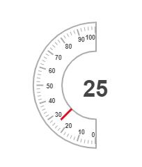 Hollow gauge