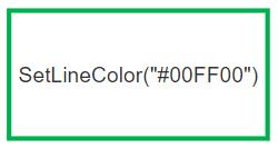 Override line color