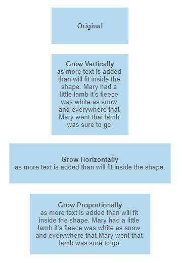 VisualScript shape growing