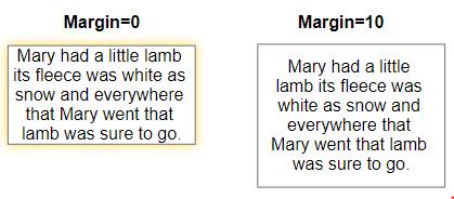 VisualScript set text margin