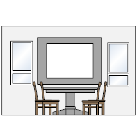 Dining Room Elevation - 1