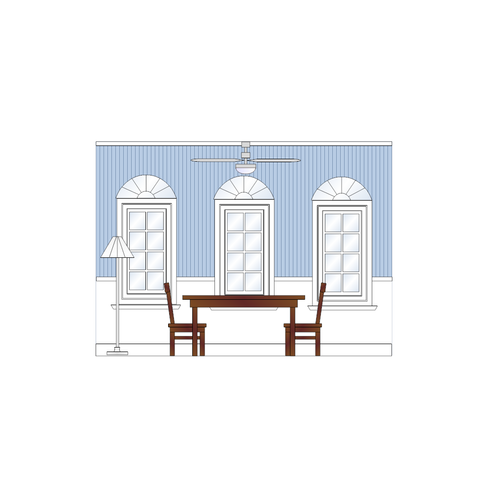 Example Image: Dining Room Elevation - 3