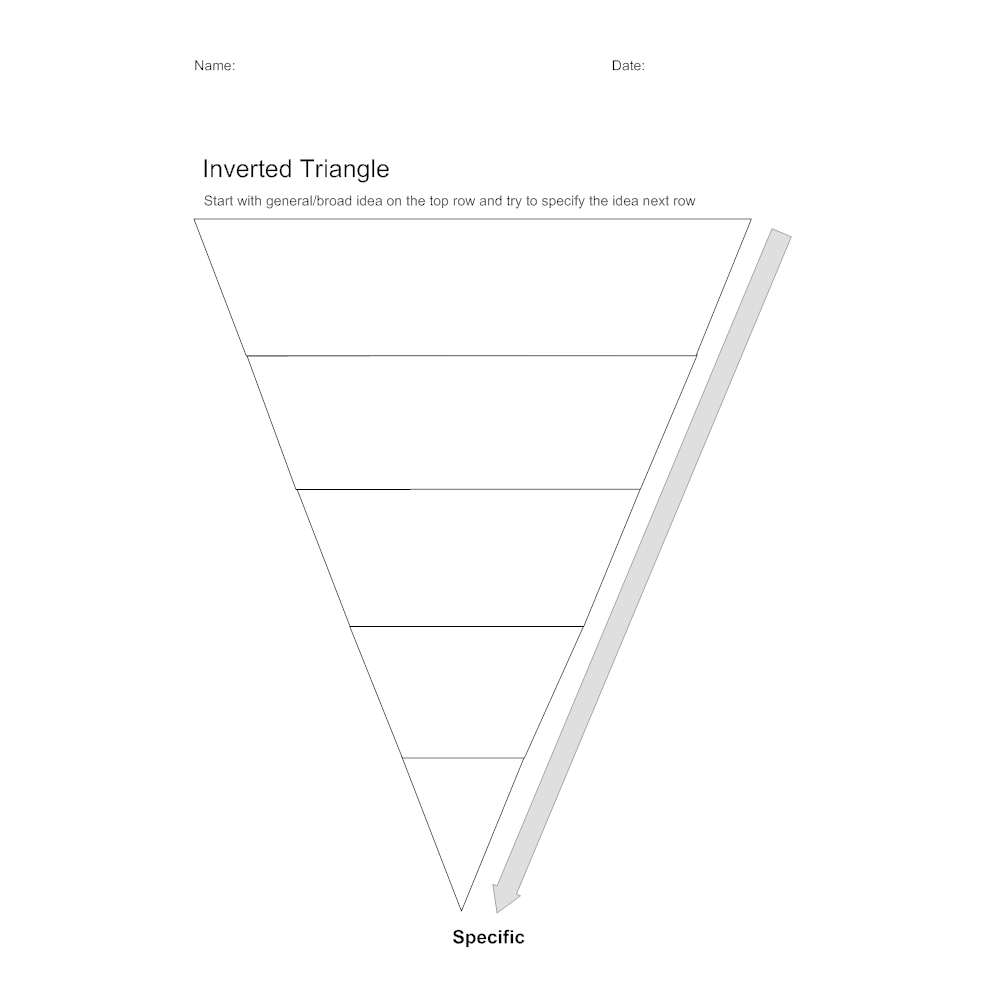 Example Image: Inverted Triangle