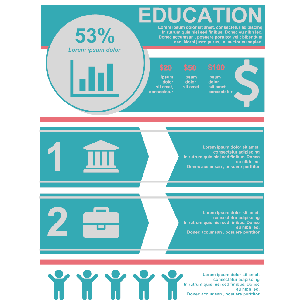 Example Image: Education Infographic