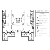 electrical plan examples rh smartdraw com electrical layout drawing in autocad electrical layout drawing pdf