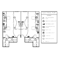 electrical plan templates Electrical Site Plan Example electrical plan patient room