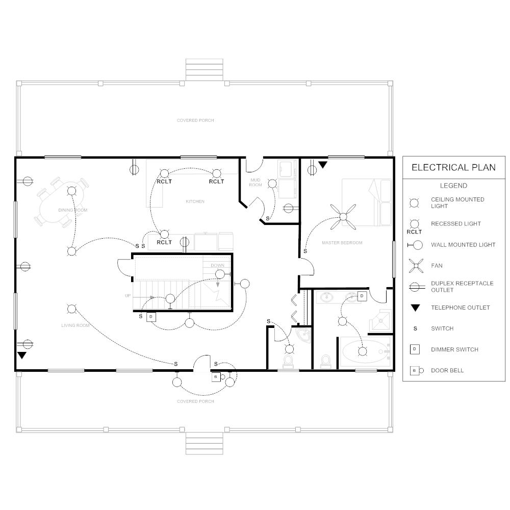 electrical plan Electrical Site Plan Example click to edit this example � example image electrical plan