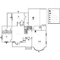 electrical plan templates Bathroom Electrical Plan