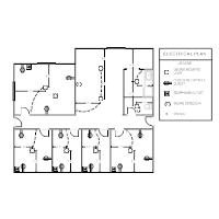 electrical plan templates Electrical Site Plan Example office electrical plan