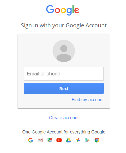 Test Google SSO from a web browser