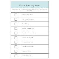 Estate Planning Steps