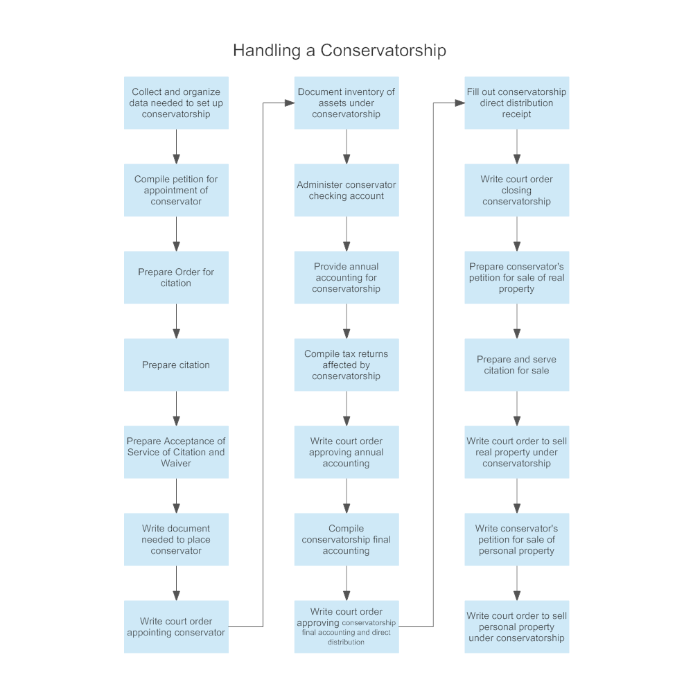 Example Image: Handling a Conservatorship