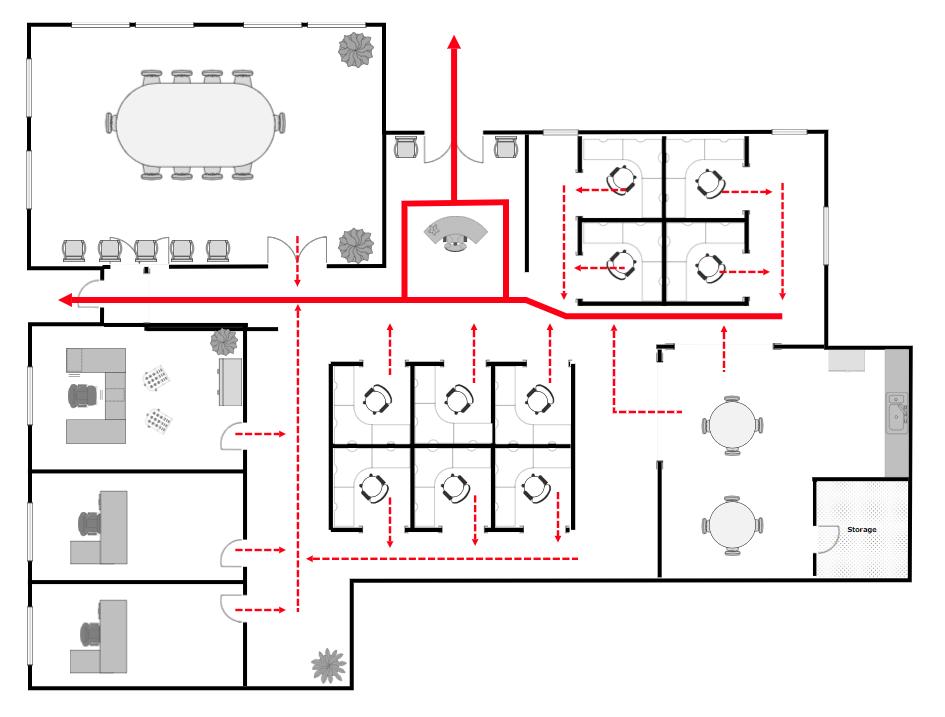 Evacuation plan
