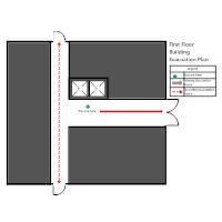 Building - First Floor Elevator Plan
