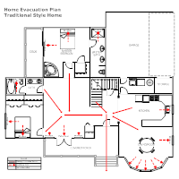 evacuation plan example