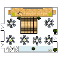 Ballroom Layout Plan