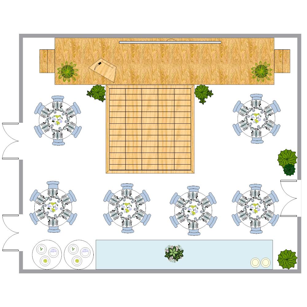 Example Image: Ballroom Layout Plan