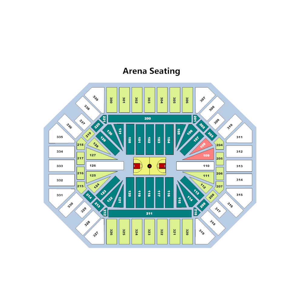 Example Image: Stadium Seating