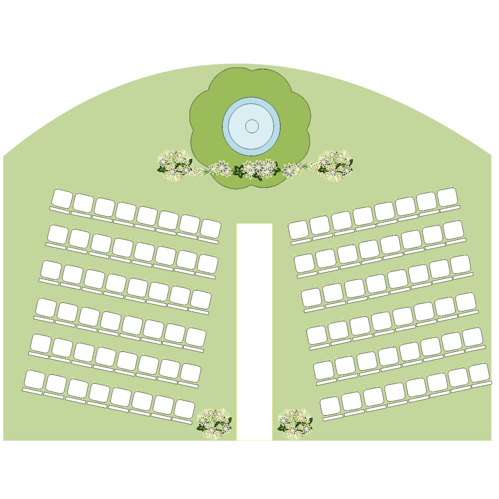 Example Image: Wedding Seating Plan