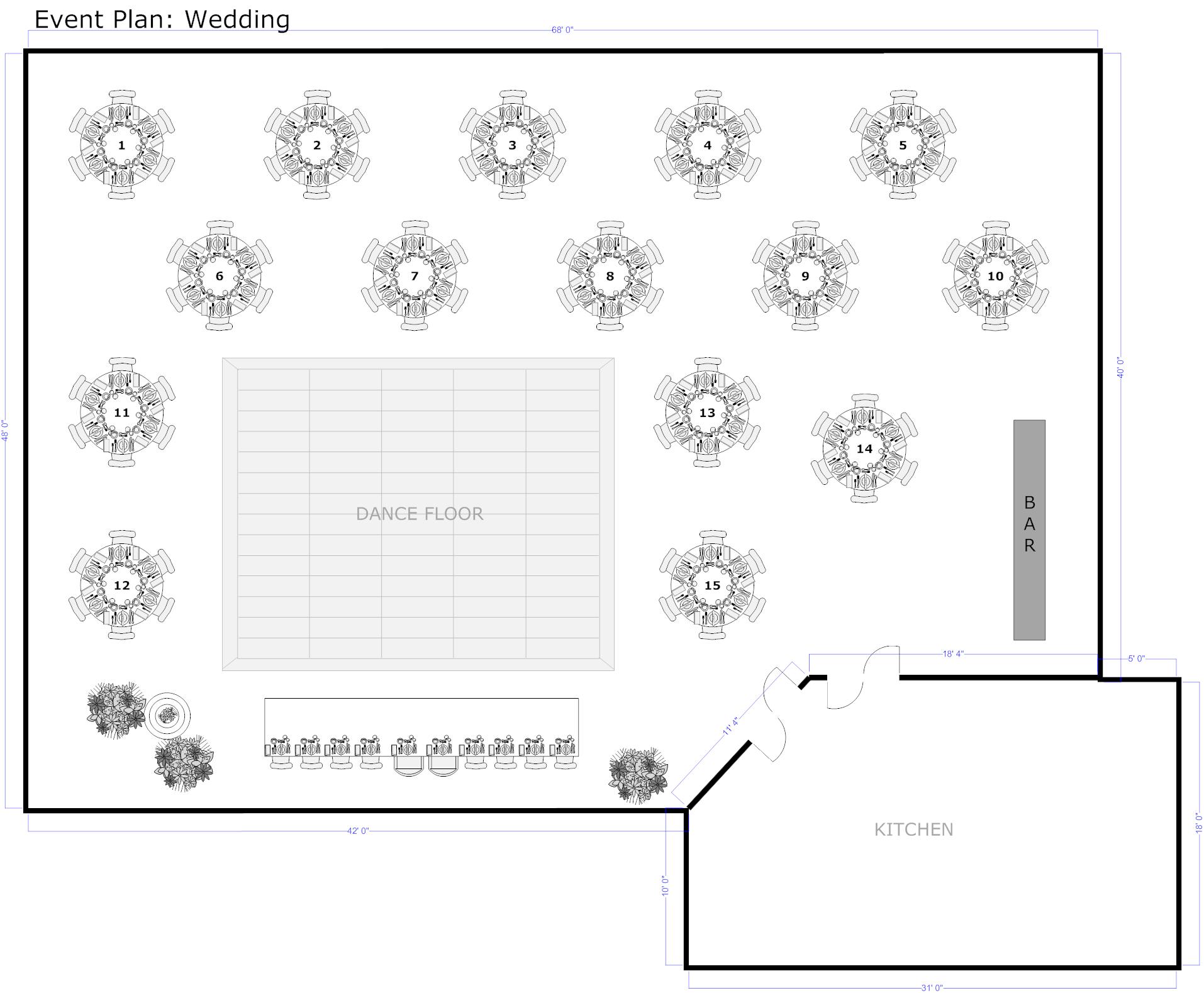 Event floor plan software mac free gurus floor for Wedding floor plan designer
