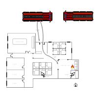 Office Fire Scene