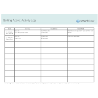 Getting Active - Activity Log