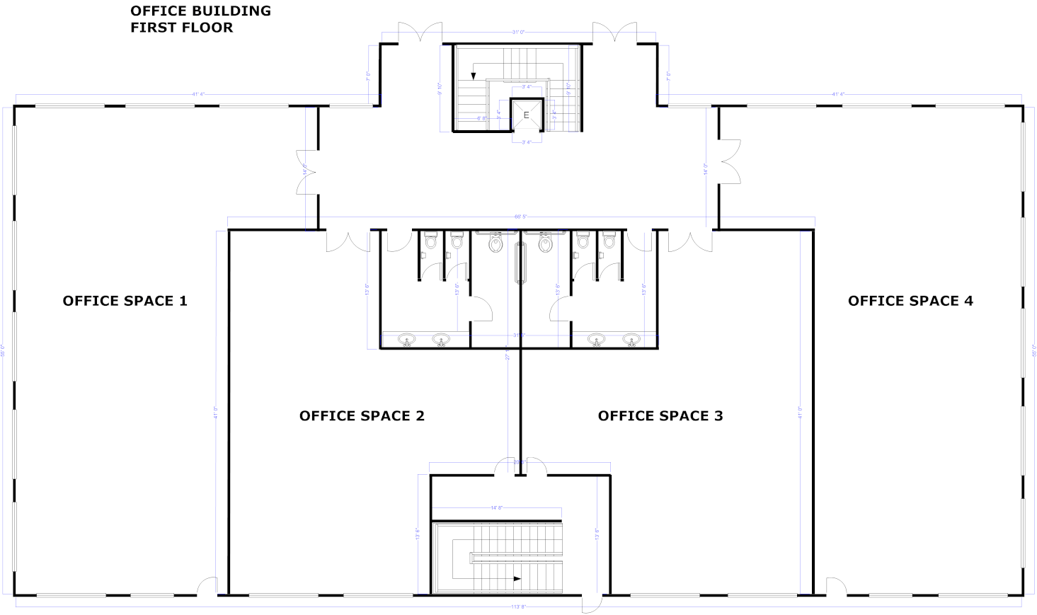 Blank house floor plan template meze blog Floor plan maker app