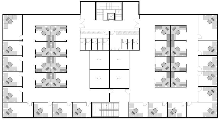 Ejemplo de plano de edificio
