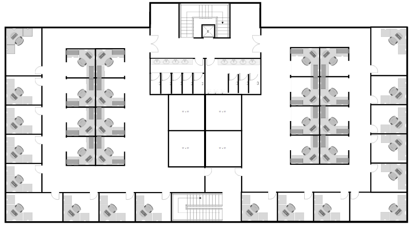 How to draw a floor plan with smartdraw for Office floor plan software