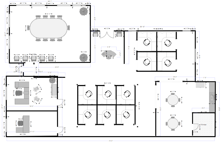 Building plan software try it free make site plans easy - Free home design drawing software ...