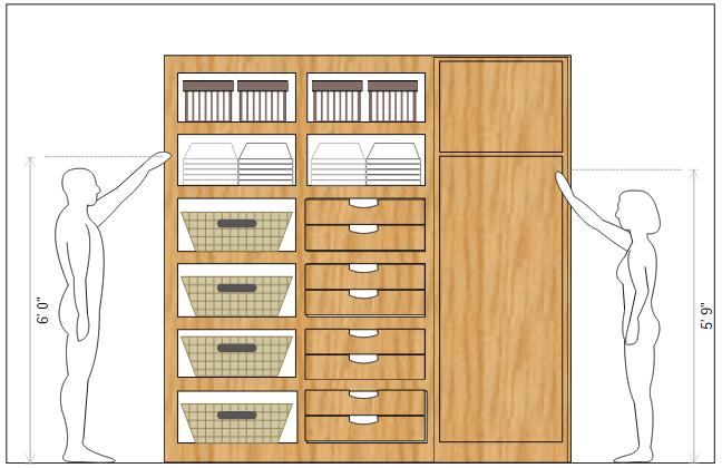 Closet Storage Example