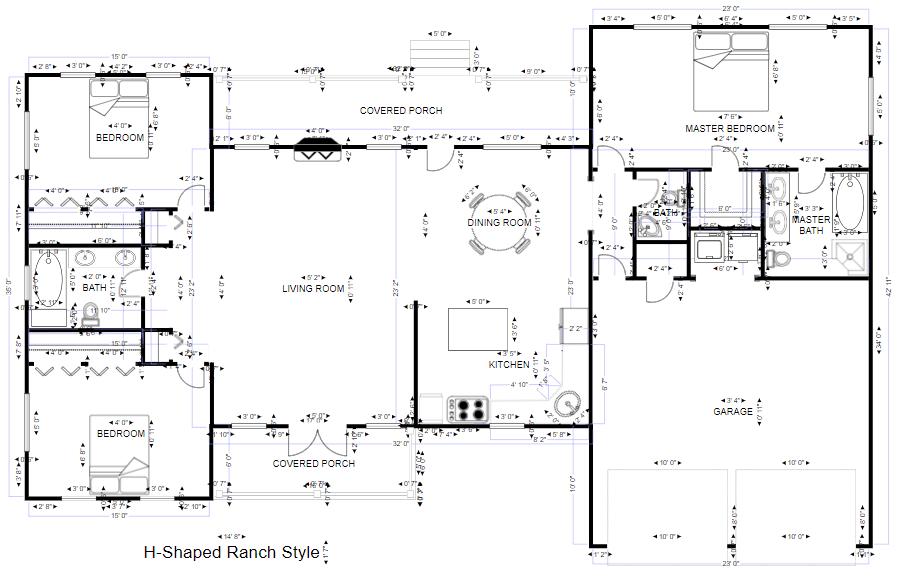 Dibujo de arquitectura