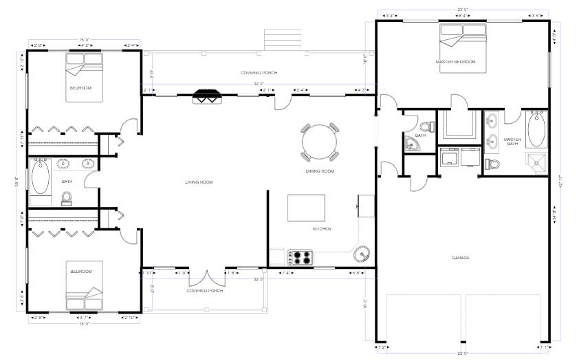 Drafting diagram example