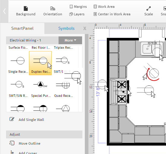 advanced floor plan tutorial  creating layers, wiring diagram