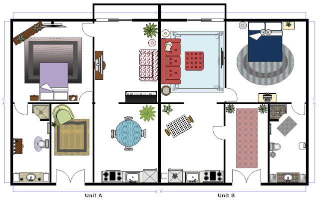 Amazing Duplex Floor Plan