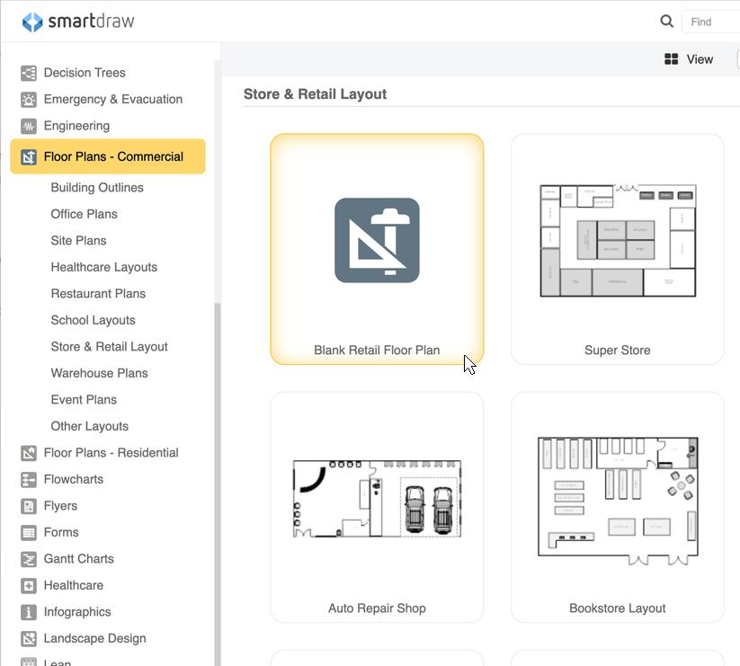 facility planning templates - Smartdraw Software Llc