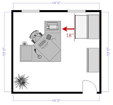 Office floor plan file cabinet