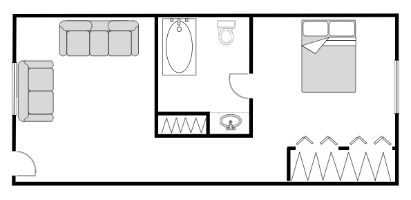 Floor Plan Layout Template from wcs.smartdraw.com