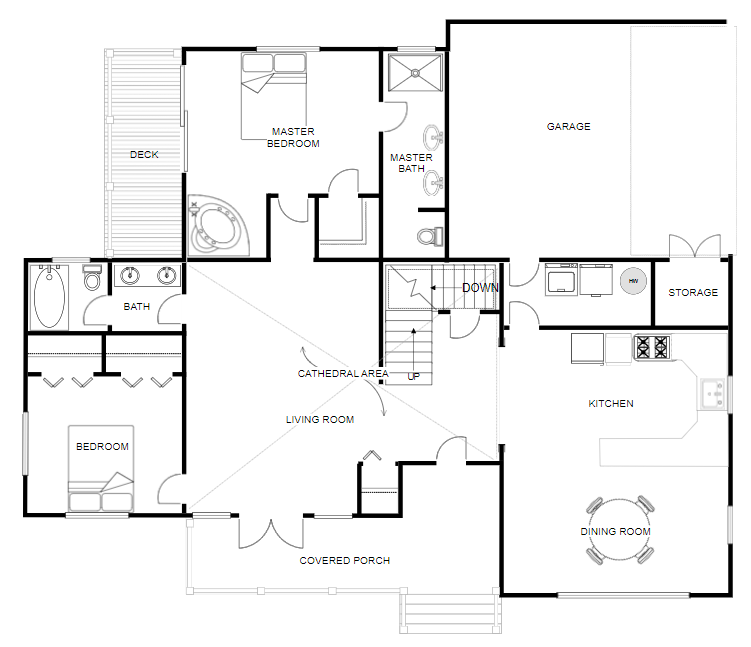 Floor Plan Creator And Designer Free Online Floor Plan App