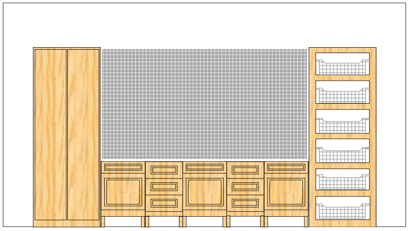 Garage storage example