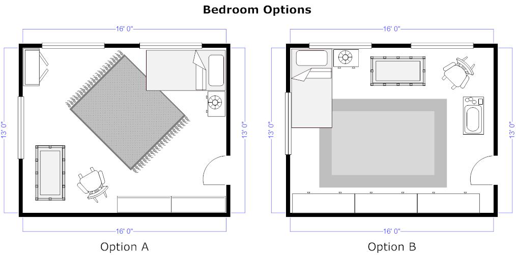 Home floor plan examples
