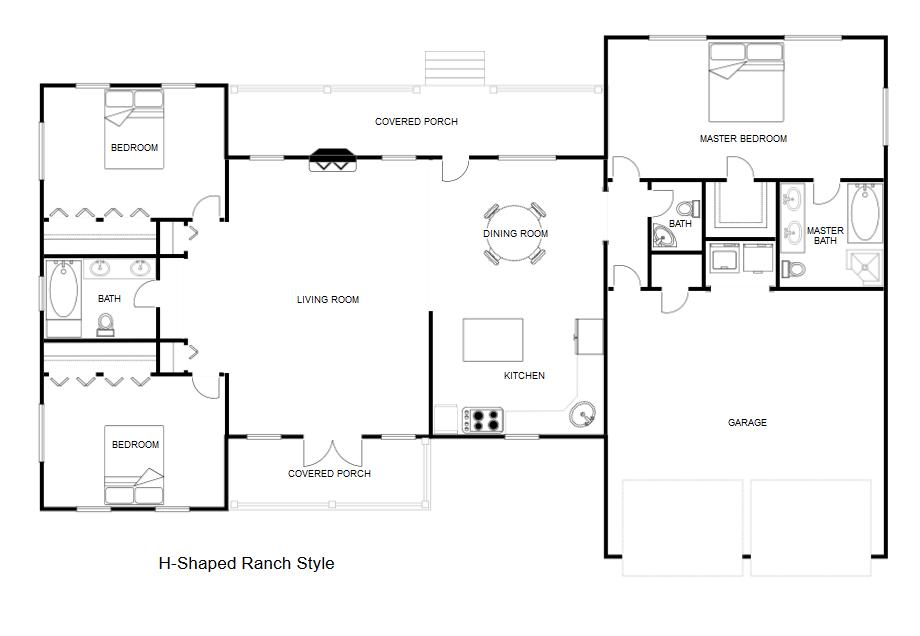 Blueprint maker free download online app - Simple floor plan maker free ...