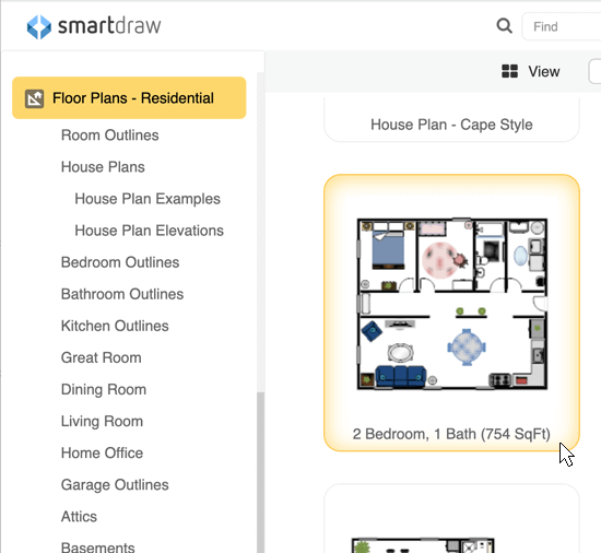 House plan templates. Home Design Software   Free Download   Online App