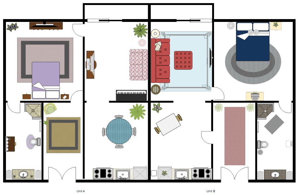 Free Interior Design Home Office Plans Rh Smartdraw Com