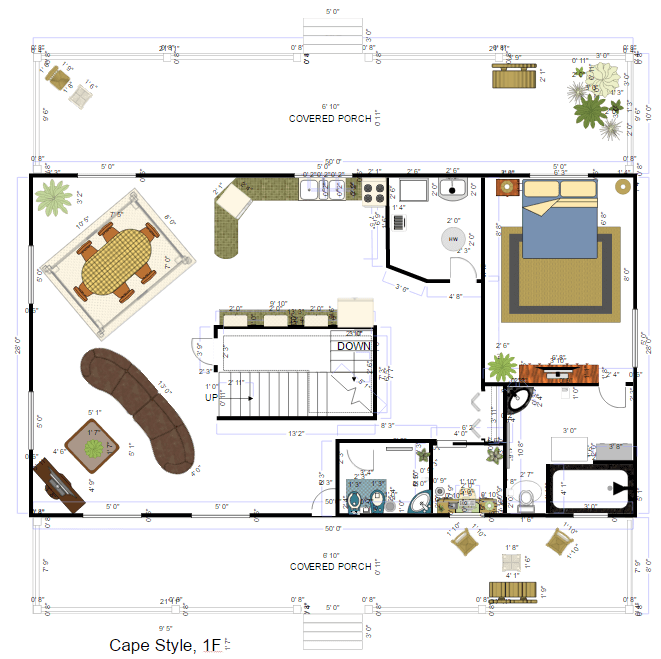Interior Design Space Planning space planning software - try it free and design space plans