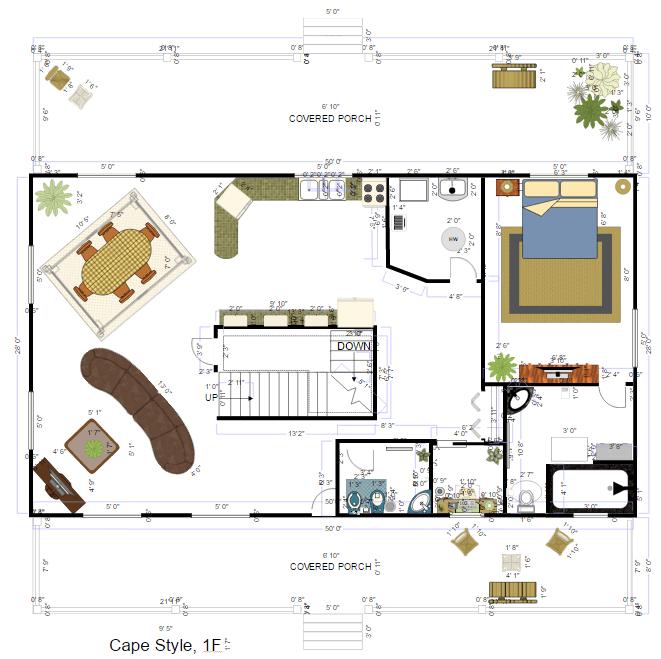 Interior design example